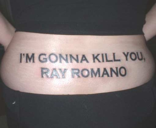 Tats are personal but this is a bit much
